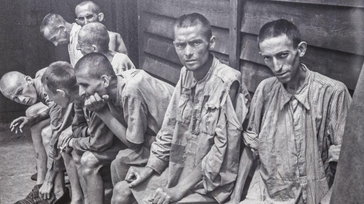 Presos de Gusen, un subcampo de concentración dependiente de Mauthausen.