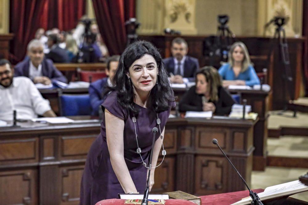Pleno del Parlament constitución de la nueva mesa