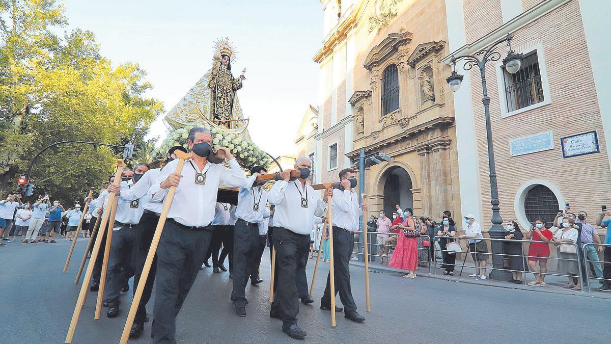 Actos por la Virgen del  Carmen en Murcia.  Juan Carlos Caval