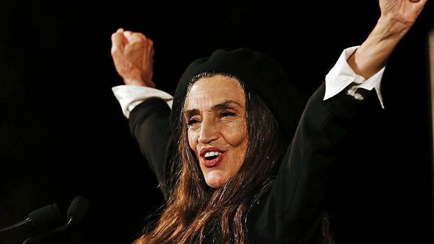 """La """"autenticidad"""" de Ángela Molina gana el Goya de Honor"""