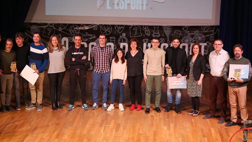 Alfons Coloma y Neus Gerez, mejores deportistas de Xixona en 2019