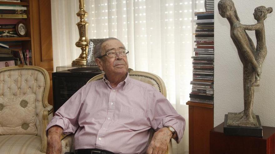 Fallece a los 83 años el exalcalde de Murcia Clemente García