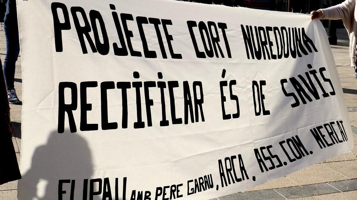 Las entidades que integran la campaña Pere Garau molt més que Nuredduna insisten en la necesidad de paralizar el proyecto.