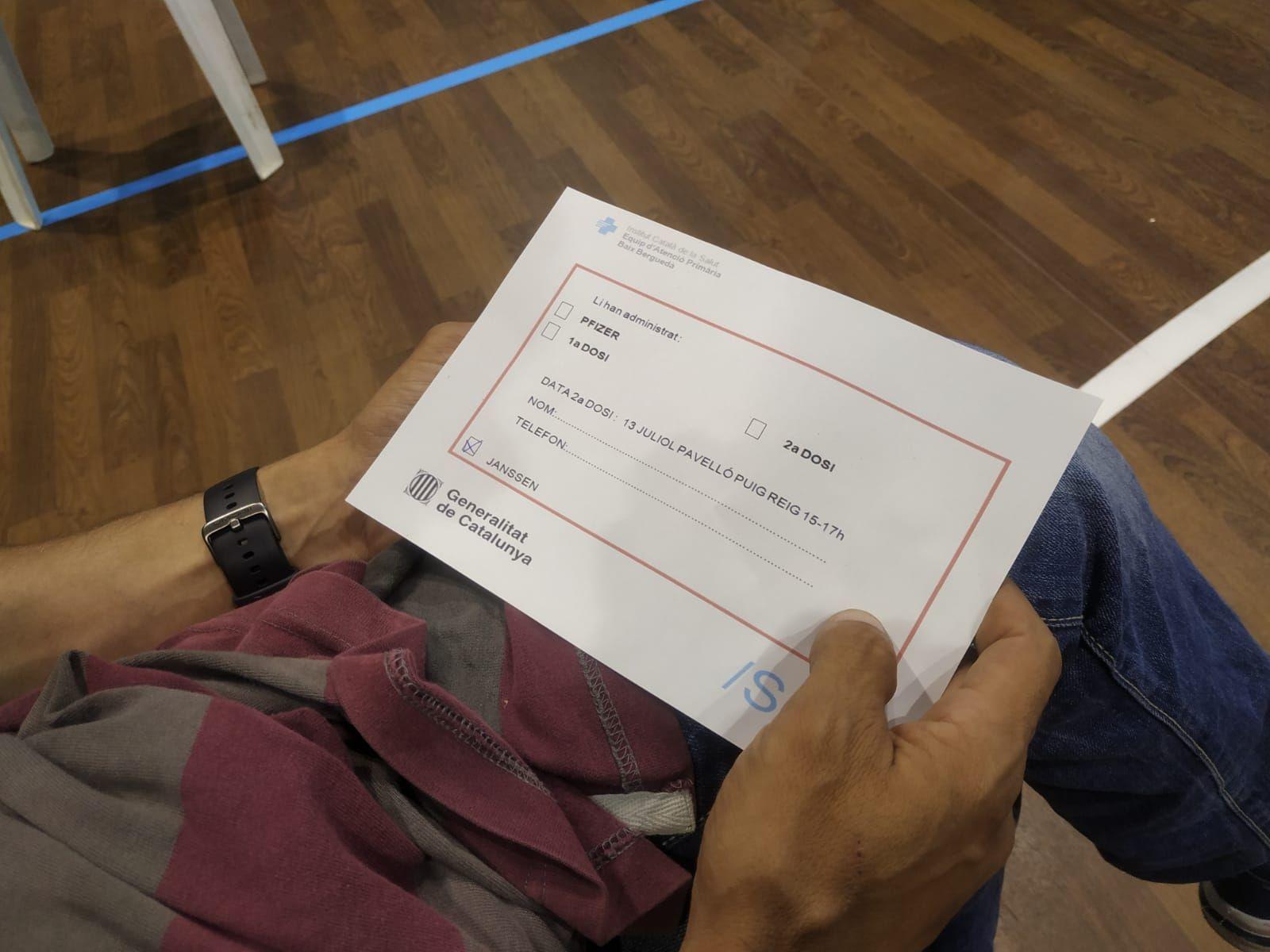 Vacunació sense cita prèvia a Puig-reig
