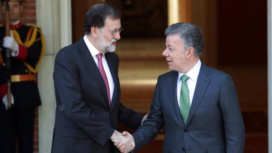 Rajoy apuesta por estrechar lazos con Colombia
