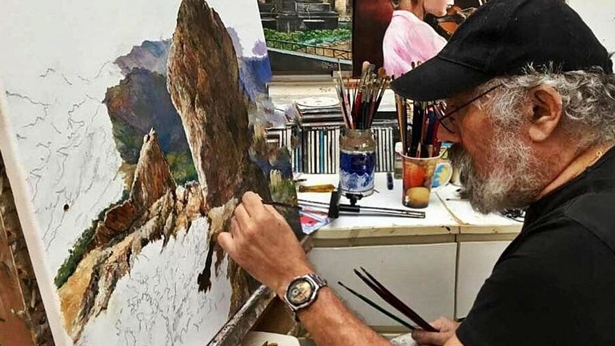 El alma del pintor Juan Alberto Díaz
