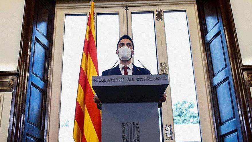 Torrent prevé elecciones en Cataluña el 14 de febrero