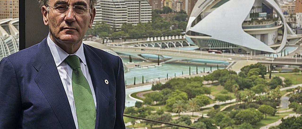 El presidente de Iberdrola, Ignacio Galán. | INFORMACIÓN