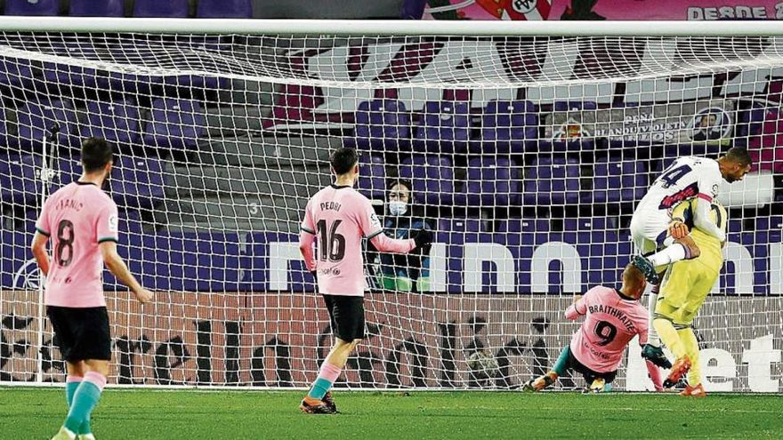Lenglet, Braithwaite i Messi golegen a Valladolid (0-3)