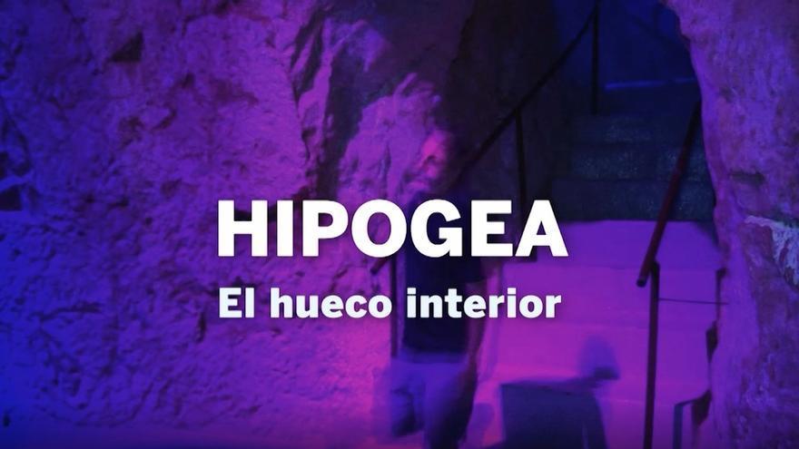 """Hipogea. El hueco interior"""" de Aurelio Ayela. una exposición a la medida de los Pozos de Garrigós, en el Museo de Aguas de Alicante dentro del II Ciclo """"Arte y medioambiente"""""""