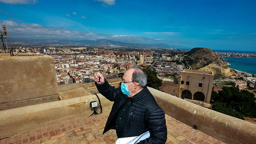 El Ayuntamiento de Alicante cerrará mañana al tráfico un tramo de la N-332 si hay una gran afluencia de peregrinos a Santa Faz