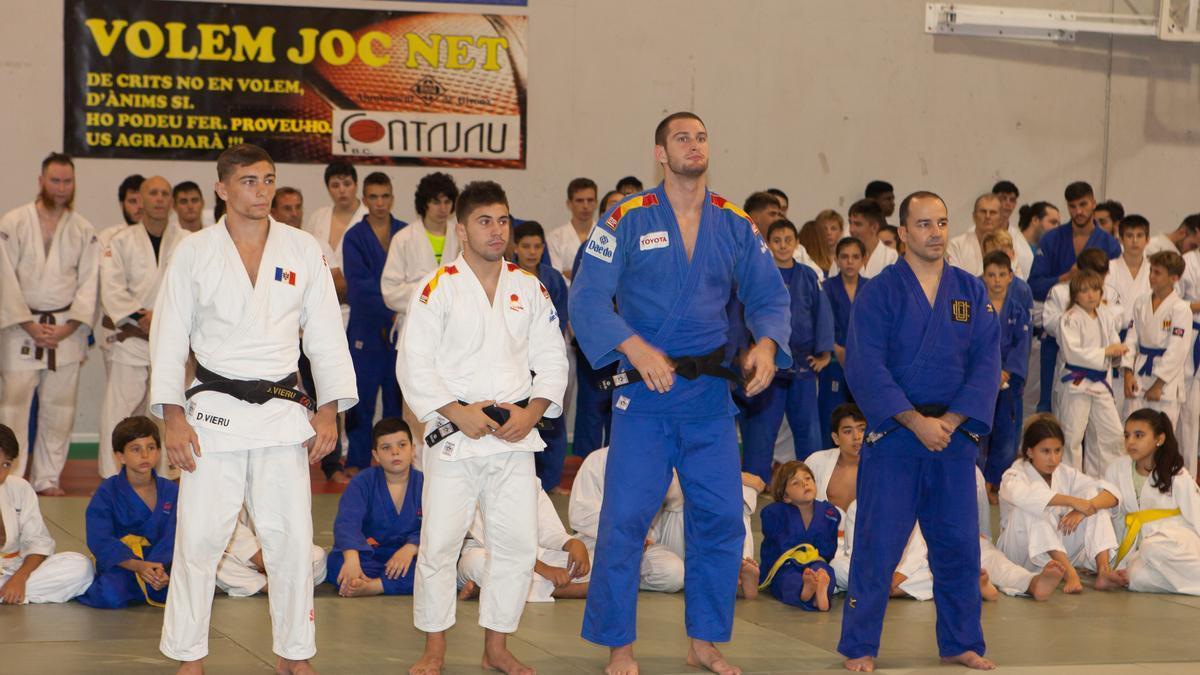 Uriarte i Iafá, entre els tècnics del 13è Congrés Internacional de Judo Ciutat de Girona