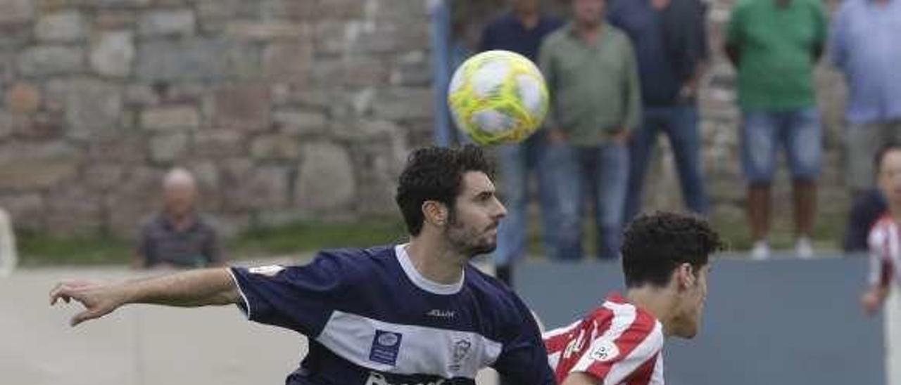 Morilla, en el primer partido de esta temporada en Miramar, contra el Atlético de Madrid B.