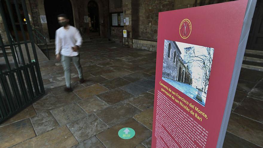 El templo de la Villa hace pedagogía de su historia