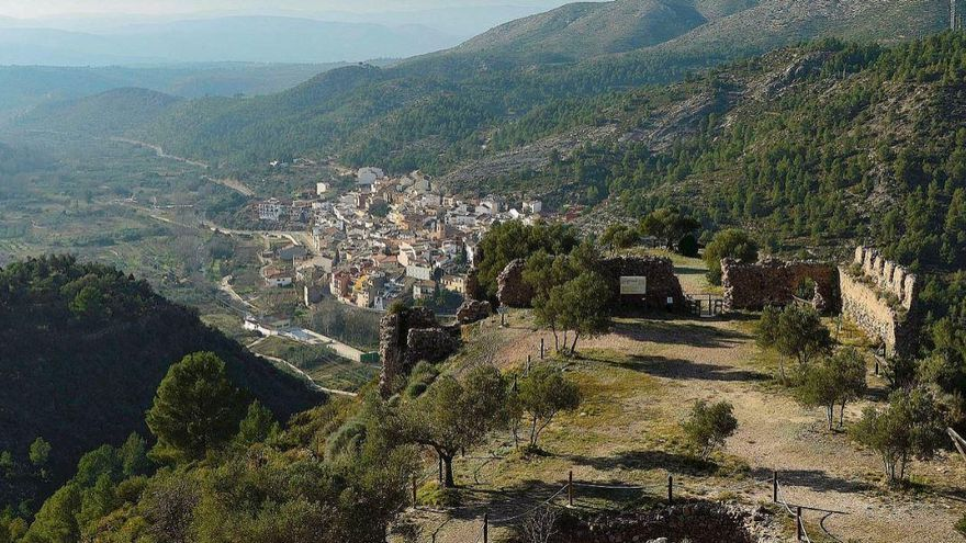 Vall de Almonacid, paisajes en la Sierra de Espadán