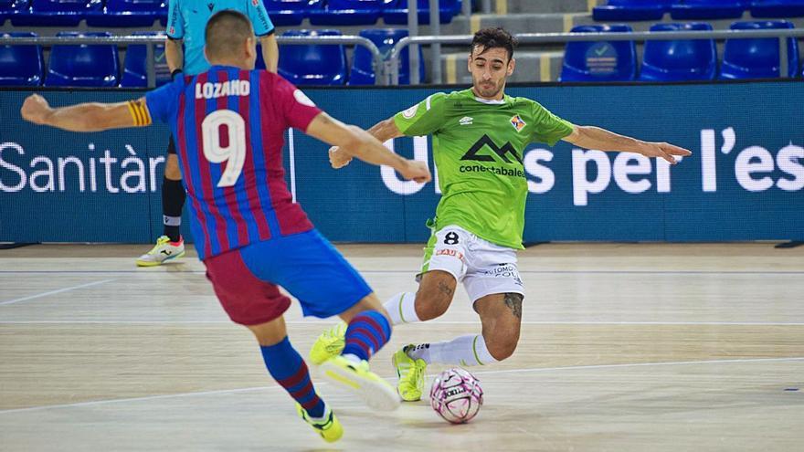 El Palma Futsal vuelve a ganar al Barça antes de comenzar la Liga