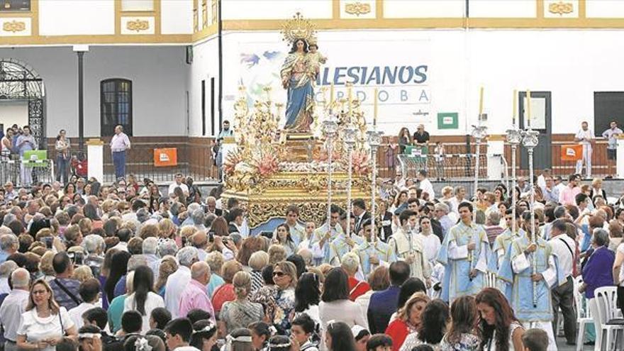 La Virgen de María Auxiliadora estará expuesta el domingo con motivo de su festividad