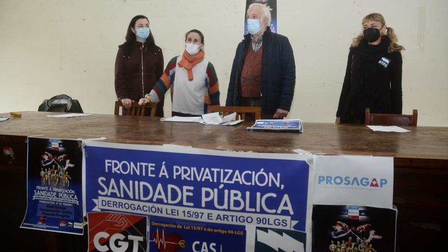 Una concentración para defender la sanidad pública