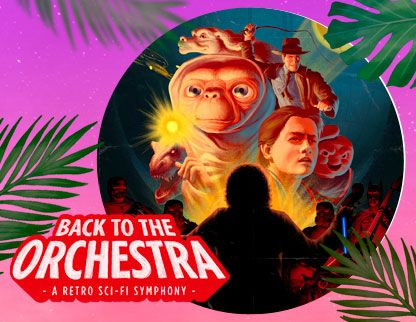 Cartel de 'Back to the Orchestra'