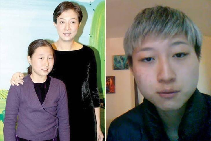 La hija de Jackie Chan.