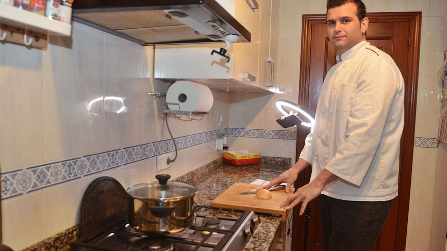 Un talento en la cocina que se hace viral