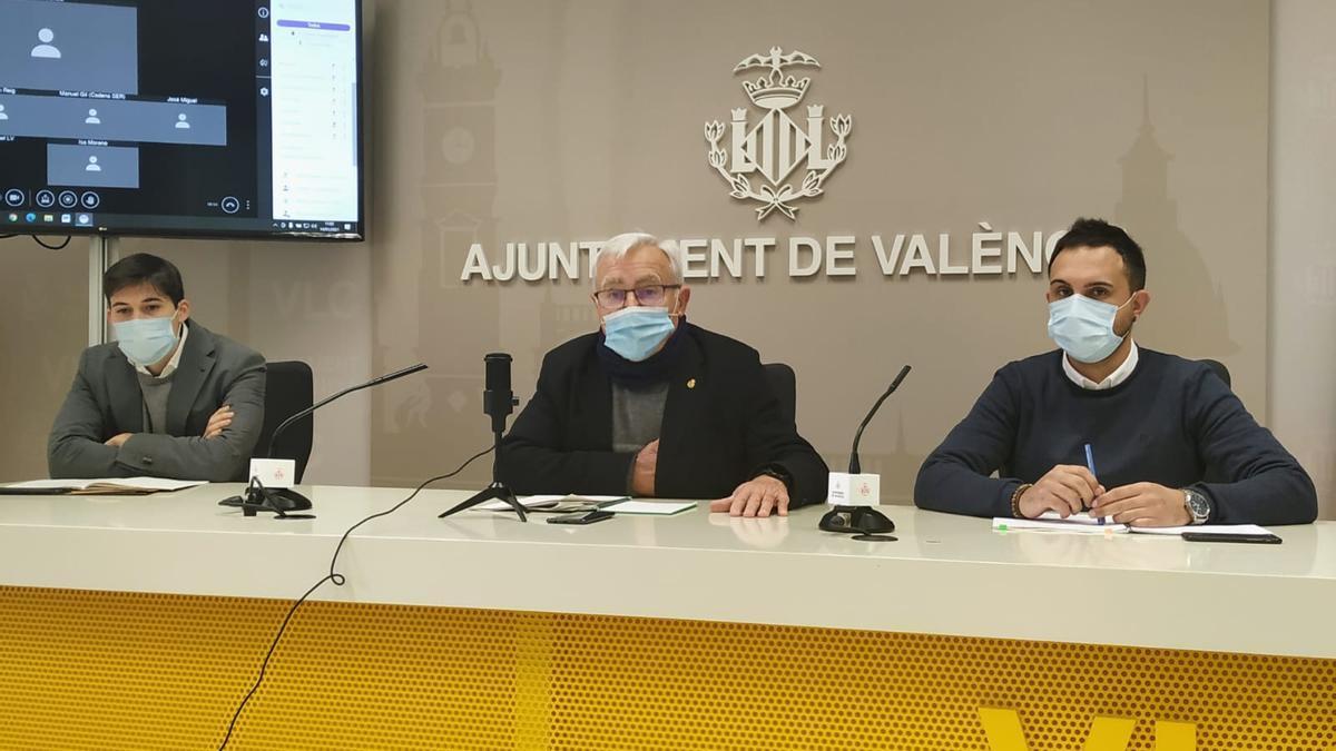 Joan Ribó ha reiterado sus críticas a la actuación policial