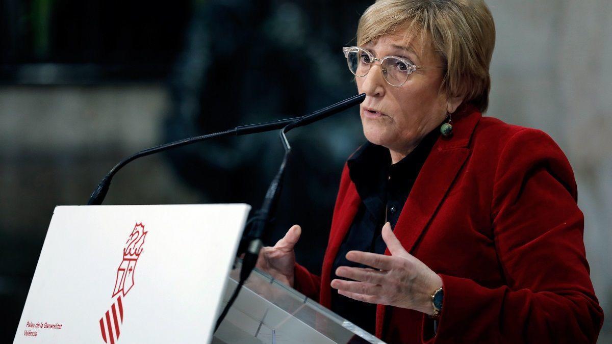 La consellera Ana Barceló, en una foto de archivo.