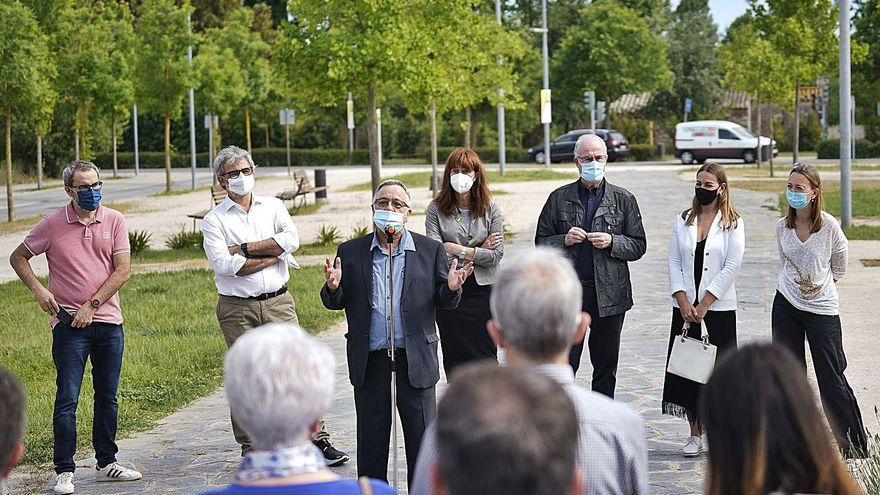 «El passeig de la Francina», la veu radiofònica de Girona