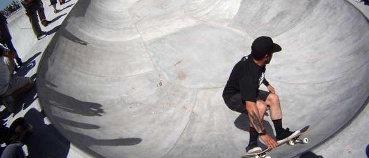 El mejor diseñador de 'skate parks' del mundo hará el de Las Rehoyas