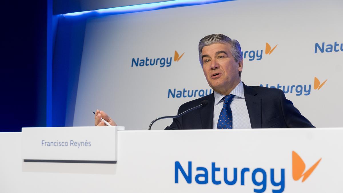 Francisco Reynés, presidente ejecutivo de Naturgy .