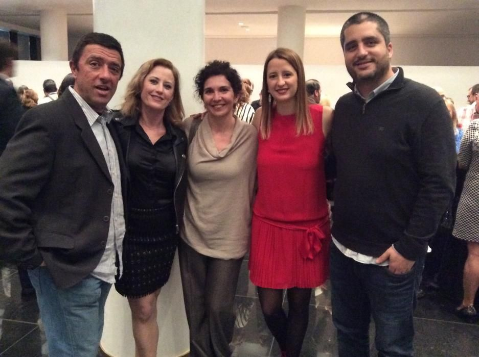 Jaime Escolano; Guillermina Jover; Lucía de la Vega, directora de estrategia de Imaginarte; Ana Gosálvez y Miki Tono, responsable de marca de Imaginarte