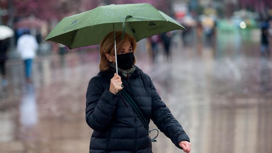 El tiempo en València: la lluvia no da tregua este miércoles