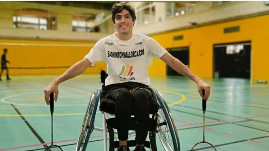 Éxito del crowdfunding de un deportista parapléjico mallorquín para conseguir una silla de ruedas