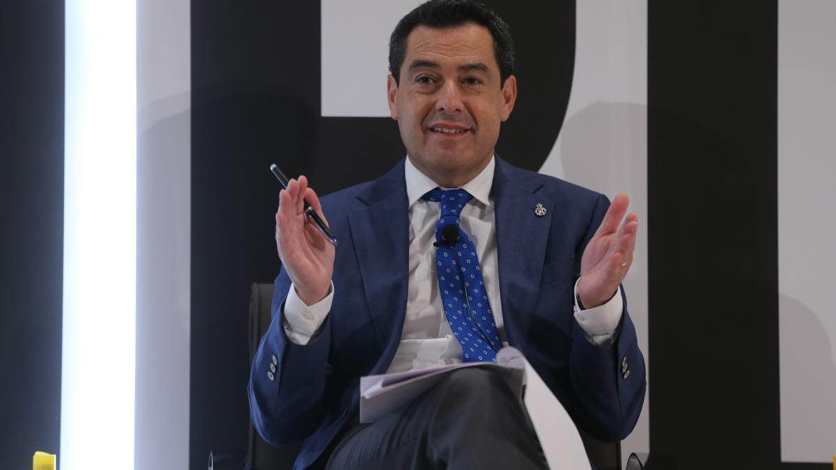 Juanma Moreno, en una imagen de archivo.