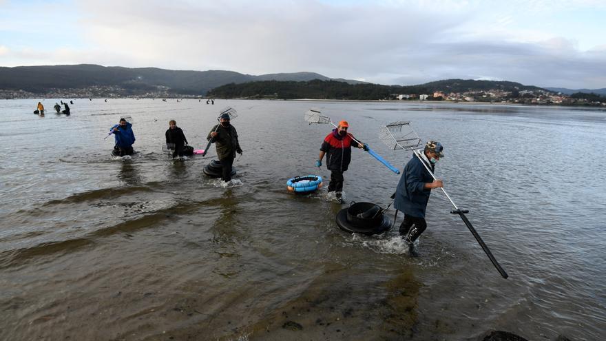 El fiscal pide el sobreseimiento del caso de fraude en el marisqueo en Pontevedra
