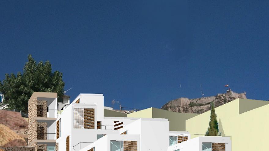 Alicante aprueba la construcción de 48 nuevas viviendas sociales en el Casco Antiguo y San Blas