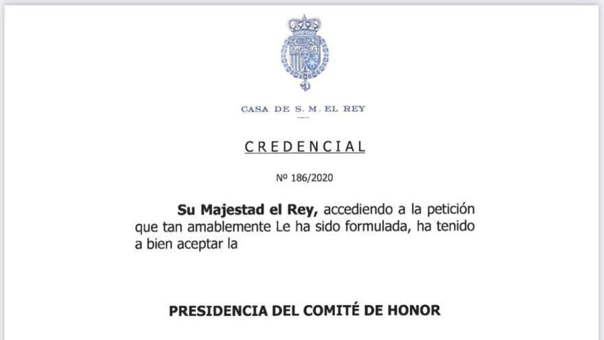 Felipe VI presidirá el Comité de Honor del Centenario de la Agrupación de Cofradías
