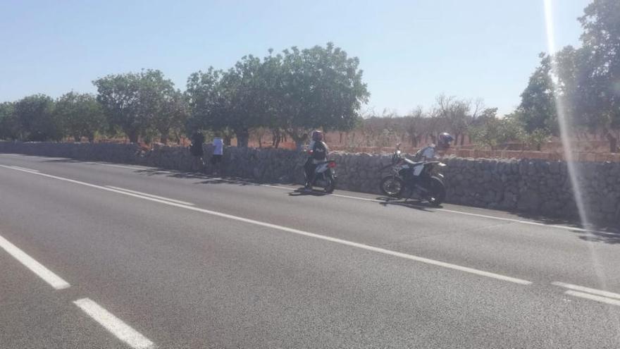 Muere un menor de 17 años en un accidente de moto en s'Illot