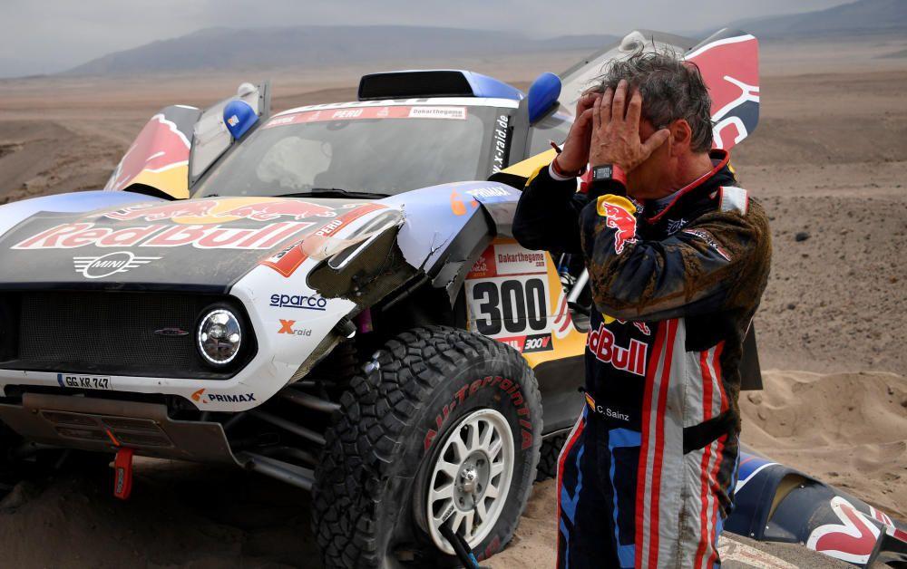 Las fotografías de la tercera etapa del Dakar