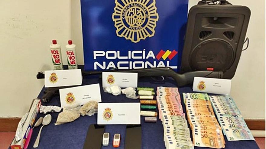 Desarticulado en Zamora el punto de venta de droga que llevaban madre e hija