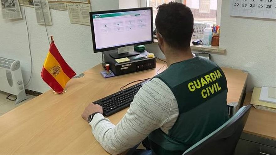 Foto de archivo de la Guardia Civil.