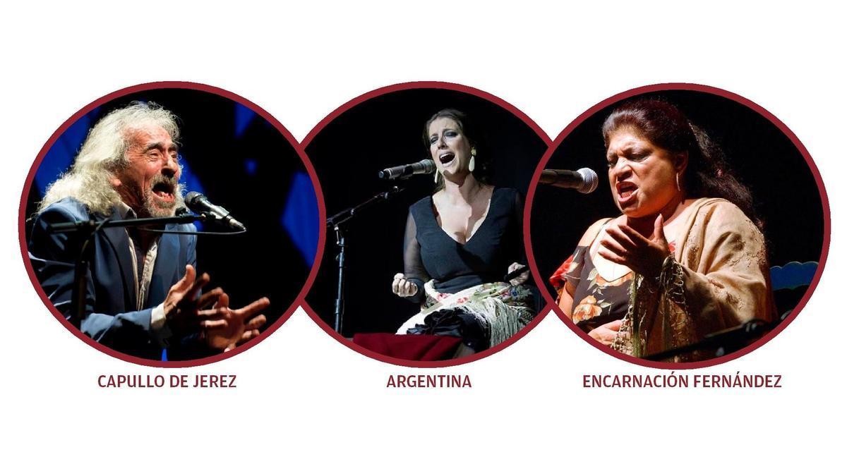 Artistas que estarán en el Festival
