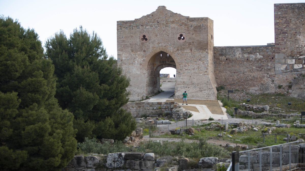 Vistas del Castillo de Sagunt