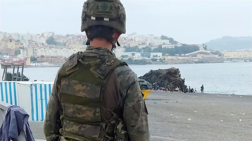 5.000 inmigrantes marroquíes llegan a nado a Ceuta