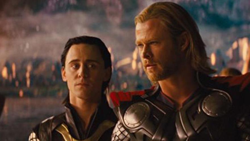 Així serà el retrobament de Loki i Thor