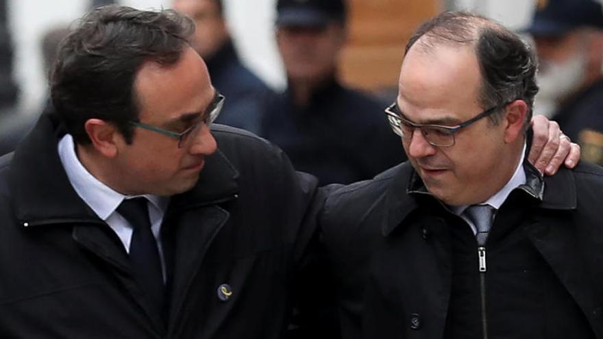 El fiscal pide prisión para Turull y otros 4 procesados por riesgo de fuga