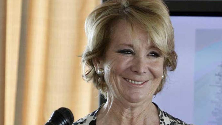 Esperanza Aguirre concursará en 'Pasapalabra'
