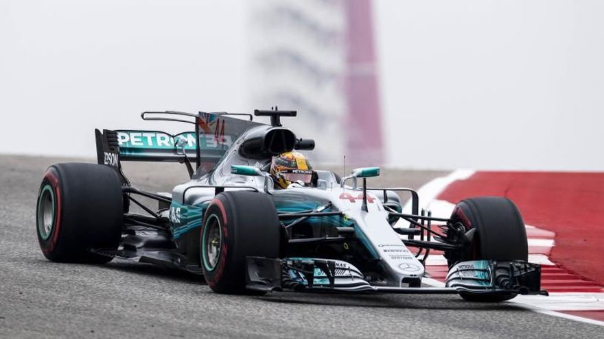 Hamilton marca terreno respecto a Vettel en Austin