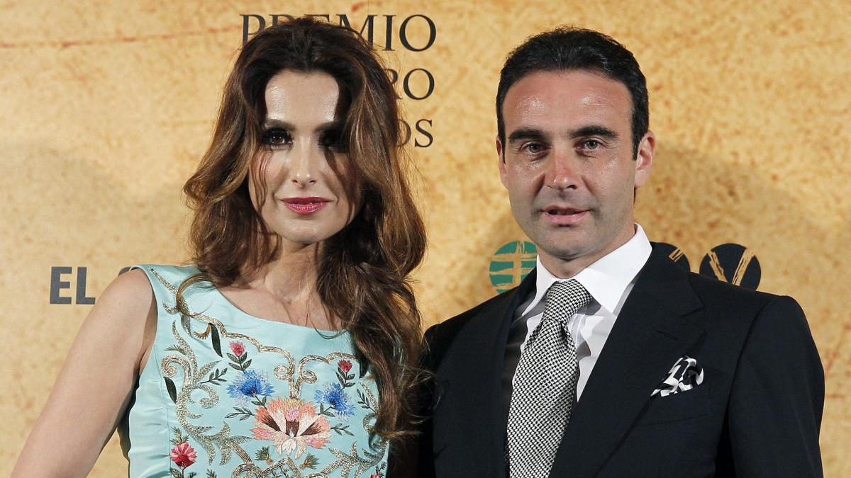 Enrique Ponce y Paloma Cuevas, en una imagen de archivo