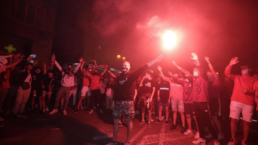 """Cort agradece el """"civismo generalizado"""" en la celebración del ascenso del Mallorca"""